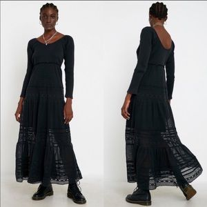 NWT Free People Earth Angel Maxi Dress Size Large